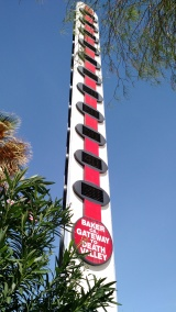 Worlds Largest Thermometer Baker California