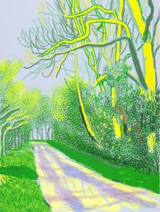 David Hockney Arrival of Spring