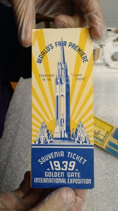 Worlds Fair 1939 Ticket Book