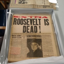 Treasure Island Archive, Newspaper