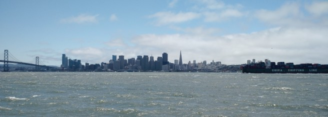 View from Treasure Island to San Francisco